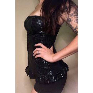 Other - 💥 50% off | Black hook & eye corset